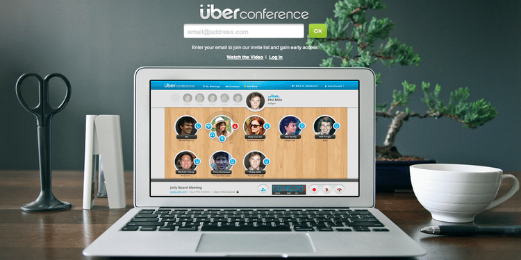 Image : Uberconference
