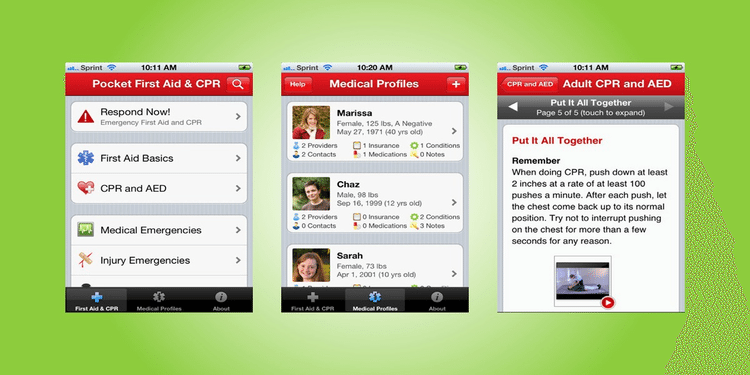Image : First Aid App
