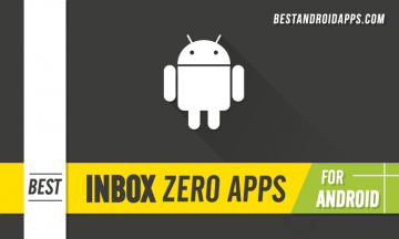 BEST INBOX ZERO APPS FOR ANDROID