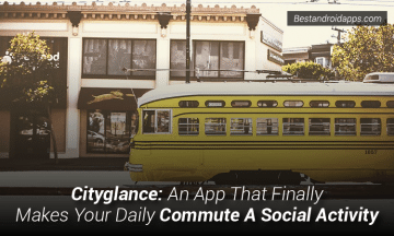 Cityglance An App That Finally Makes Your Daily Commute A Social Activity