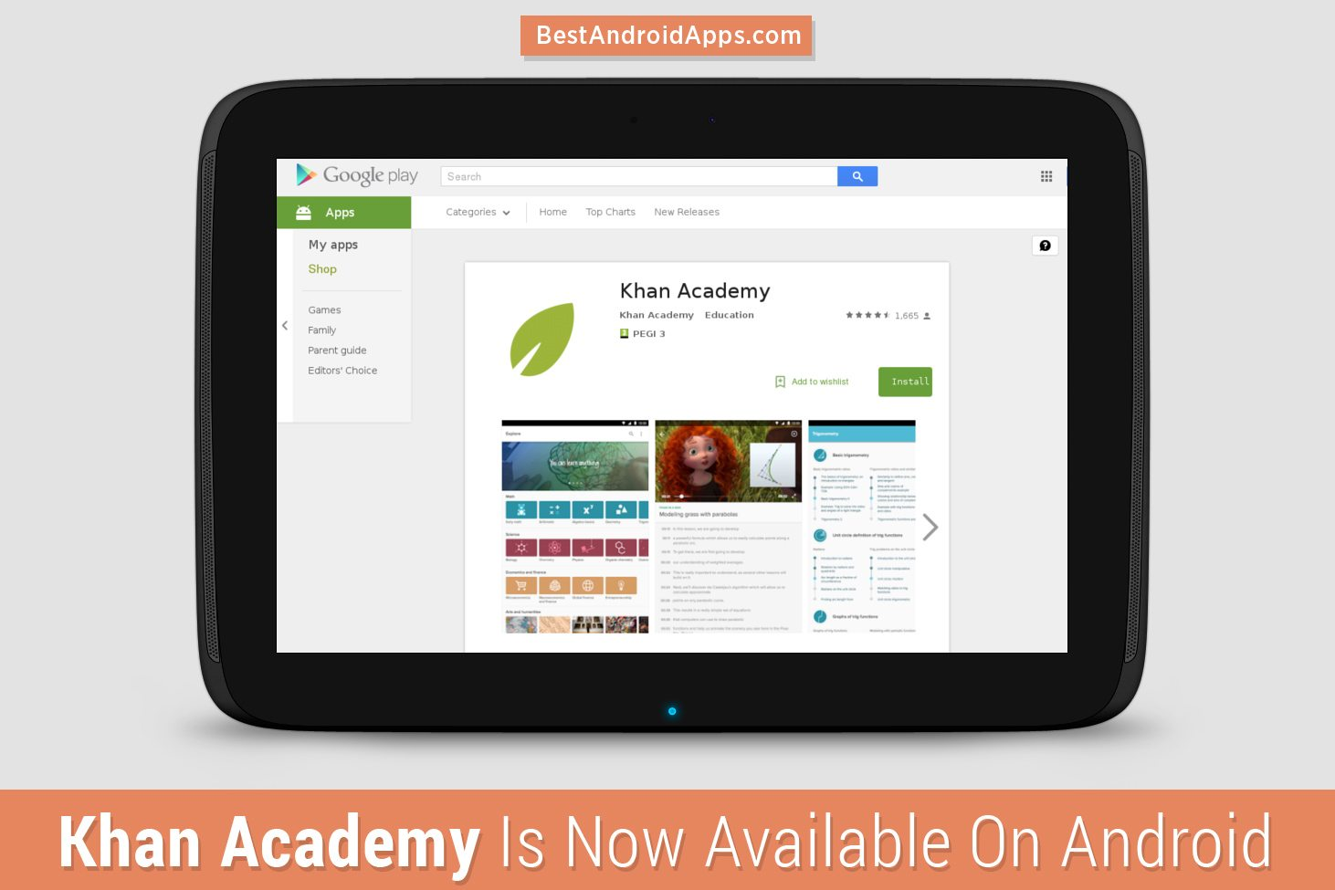 khan academy is now available on android best android apps. Black Bedroom Furniture Sets. Home Design Ideas