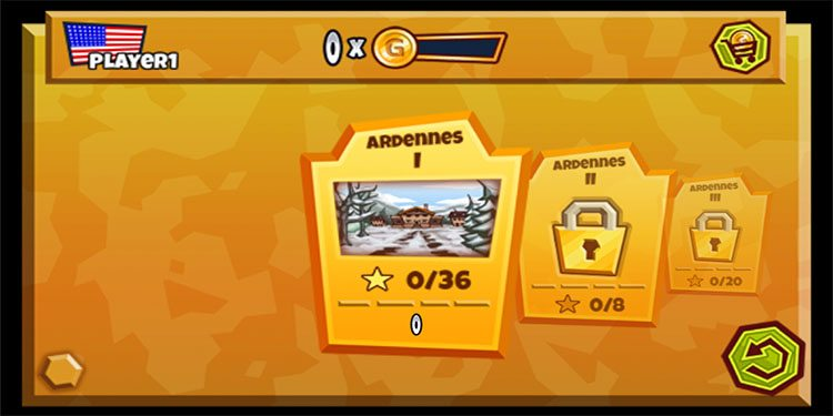 To start it's an Angry Birds style unlockable level stack