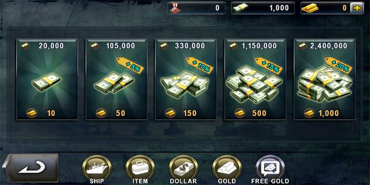 We can buy those customization's with game money