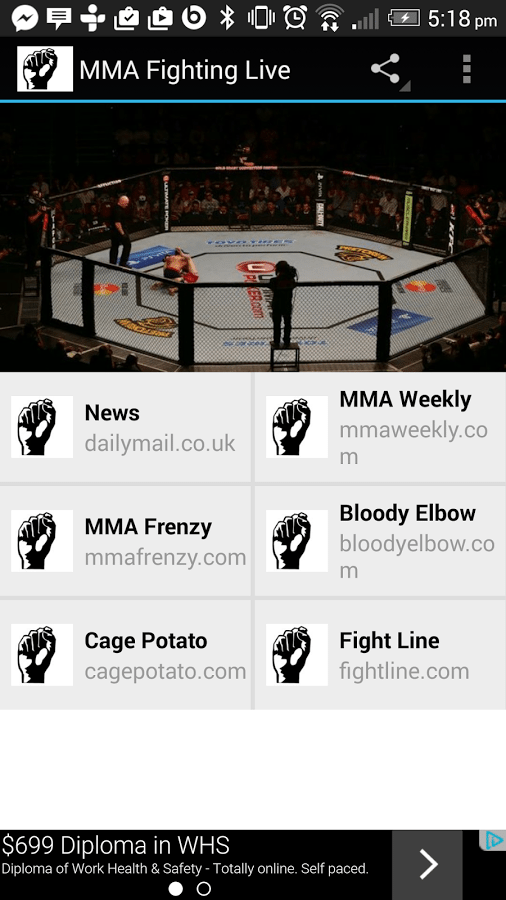 where can i watch mma fights