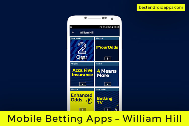 mobile betting william hill