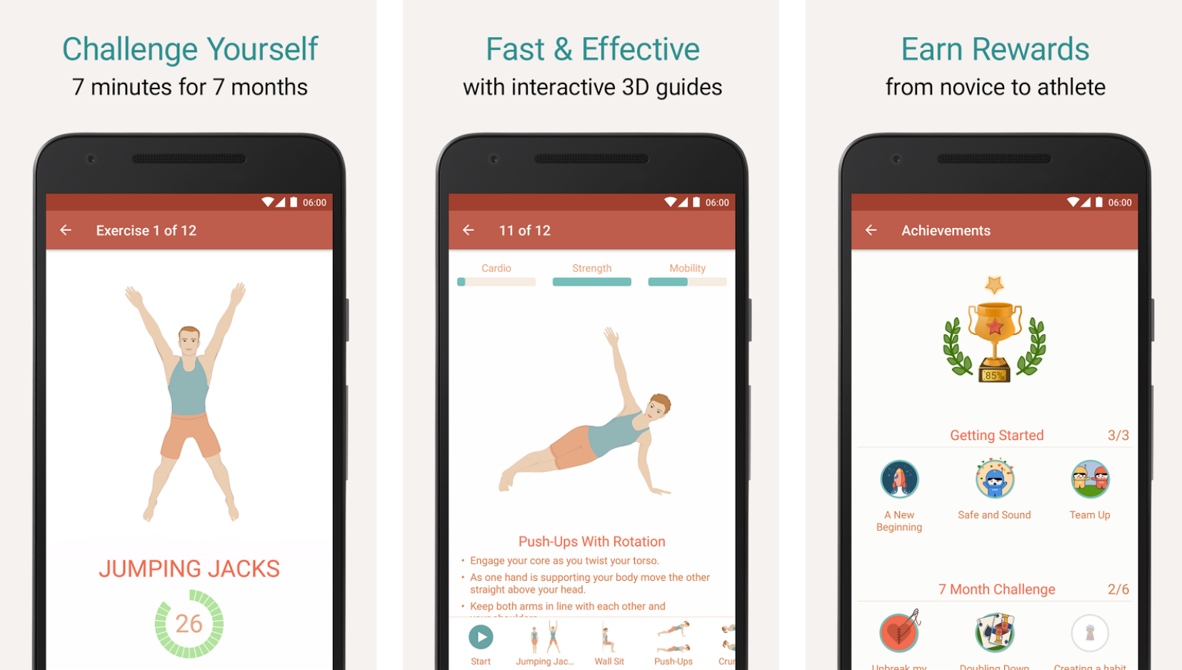 seven - the 7-minute workout app